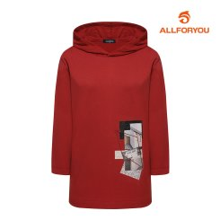 [올포유]21FW 여성 후드 티셔츠 ALTRK8111-207_G