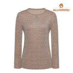 [올포유]21FW 여성 라운드 티셔츠 ALTRK7321-509_G