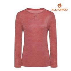 [올포유]21FW 여성 라운드 티셔츠 ALTRK7321-403_G