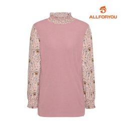 [올포유]21FW 여성 셔링 티셔츠 ALTHK8231-403_G