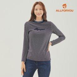 [올포유]21FW 여성 자수 티셔츠 ALTHK8221-915_G