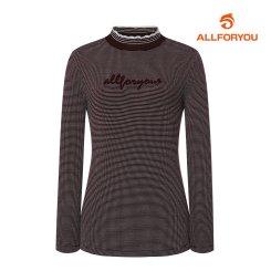 [올포유]21FW 여성 자수 티셔츠 ALTHK8221-415_G
