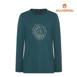 [올포유]21FW 여성 라운드 티셔츠 ALQTK7311-804_G