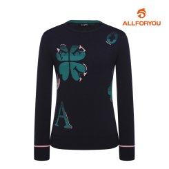 [올포유]21FW 여성 AFY 하트 스웨터 AWSRK8261-915_G