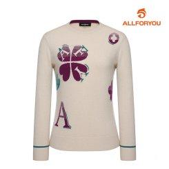 [올포유]21FW 여성 AFY 하트 스웨터 AWSRK8261-102_G