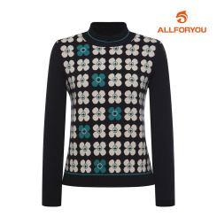 [올포유]21FW 여성 클로버 스웨터 AWSHK8161-915_G