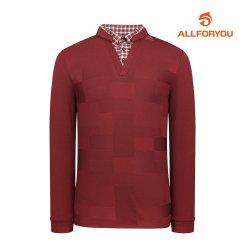 [올포유]21FW 남성 자가드 티셔츠 AGTYK7411-308_G