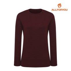 [올포유]21FW 여성 라운드 티셔츠 ALTRK8421-415_G
