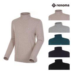 [레노마골프]남성 로고패치 베이직 폴라 스웨터 RMSPG3202 택1