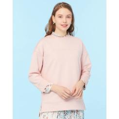 [LAFUMA] 라푸마 [졸리(Jolie)] 핑크 여성 루즈핏 맨투맨 LFTS9B022P1