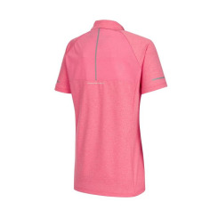 [라푸마][19SS] 핑크 반팔 집업 티셔츠 LFTS9B502P2