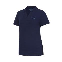 [라푸마][19SS] 네이비 넥변형 V넥 반팔 티셔츠 LFTS9B310N3