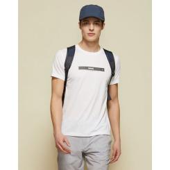 [라푸마][19SS] 화이트 반팔 라운드넥 티셔츠 LMTS9B504WT