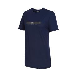 [라푸마][19SS] 네이비 반팔 라운드 티셔츠 LFTS9B504N3