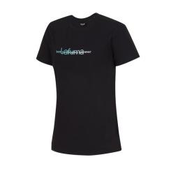 [라푸마][19SS] 블랙 면터치 라운드 티셔츠 LFTS9B324BK