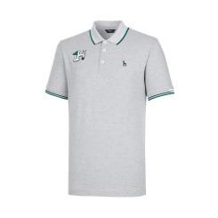 [헤지스골프][20SS] 그레이 H시즌와펜 면혼방 피케 티셔츠 HUTS0B901G2