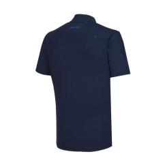 [헤지스골프][19SS] 네이비 솔리드 반집업 반팔 티셔츠 HUTS9B311N2