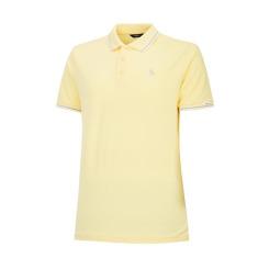 [헤지스골프] [19SS] 옐로우 라인배색 면혼방 반팔카라티셔츠 WPTS9B077Y1