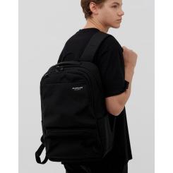 [JILLSTUART NEWYORK SPORT] 질스튜어트뉴욕스포츠 [Tiki Backpack] 블랙 남녀공용 나이론 신학기 스퀘어 2포켓 백팩 JEBA9E157BK