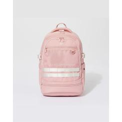 [JILLSTUART NEWYORK SPORT] 질스튜어트뉴욕스포츠 [Utica+ Backpack] 핑크 남녀공용 코듀라 신학기 라운드 백팩(신발 주머니 내장) JEBA9E155P4