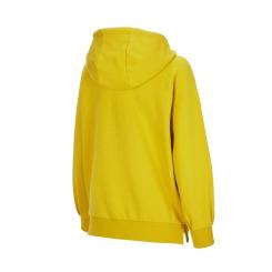 [JILLSTUART NEWYORK SPORT] 질스튜어트뉴욕스포츠 [Lollipop Hoodie] 옐로우 단색 면혼방 여성 후드티셔츠 JFTS9D752Y1
