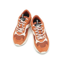 [JILLSTUART NEWYORK SPORT] 질스튜어트뉴욕스포츠 [BLAZE FL] 오렌지 컬러블록 남녀공용 운동화 JESO9F553O1