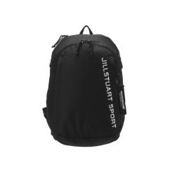 [JILLSTUART NEWYORK SPORT] 질스튜어트뉴욕스포츠 [Steady Backpack] 블랙 로고프린트 남녀공용 백팩 JEBA9F511BK