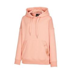 [JILLSTUART NEWYORK SPORT] 질스튜어트뉴욕스포츠 [Downy Hoodie] 코랄 핑크 기모 후드 티셔츠 JFTS9D901C2