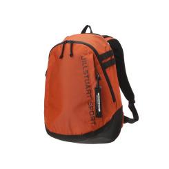[JILLSTUART NEWYORK SPORT] 질스튜어트뉴욕스포츠 [Steady Backpack] 오렌지 로고프린트 남녀공용 백팩 JEBA9F511O3