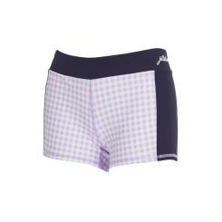 [질스튜어트뉴욕스포츠] [Gymkini Pants] 바이올렛 체크패턴 여성 그래픽 짐키니 수영복 팬츠 JFSR9B436V1