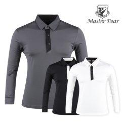 마스터베어 코트나 배색 스윙 기모셔츠 MS9A413
