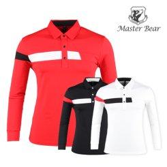 마스터베어 코트나 배색 스윙 기모셔츠 MS9A414