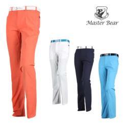 마스터베어 매직밴드 투라인 배색 골프바지 MS20M506