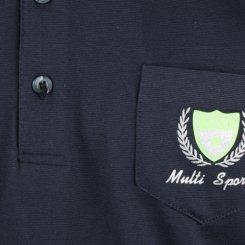 파크타운 카라 배색 포인트 반팔 골프셔츠 RM20M427