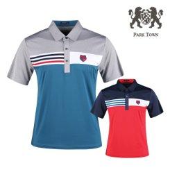 파크타운 아이스쿨 반팔 골프셔츠 RM20M418