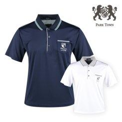 파크타운 포인트 메쉬 반팔 골프셔츠 RM20M420