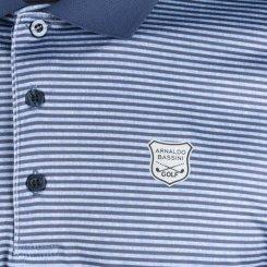 아날도바시니 스트라이프 긴팔 카라셔츠 BS20A413