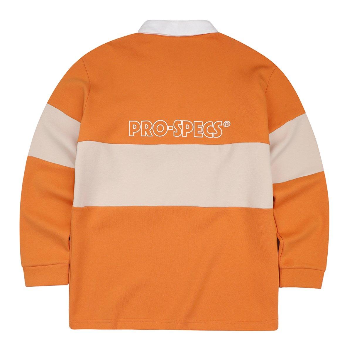 프로스펙스(PROSPECS) 오리지널 가을 럭비 배색 폴로 티셔츠(W)MS-X111