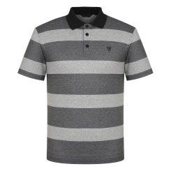 남성 여름 2도 스트라이프 요꼬 폴로 티셔츠(W)MS-M372