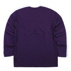 가을 기본 배색 라운드 티셔츠(W)MT-X122