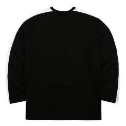 가을 기본 배색 라운드 티셔츠(W)MT-X123