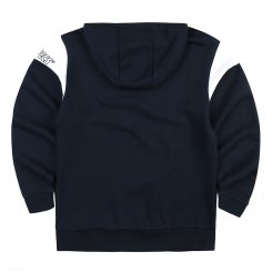 가을 배색 후드 티셔츠(W)MT-X151