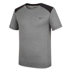 남성 여름 숄더 블록 라운드 티셔츠(W)MT-M331