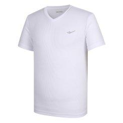 남성 여름 에어 브리스 스몰 로고 V넥 티셔츠(W)MT-M431