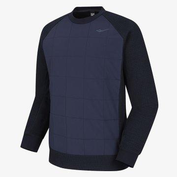 패딩 믹스 맨투맨 티셔츠MT-W731