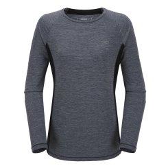 미모필 여성 긴팔 배색 티셔츠(W)WT-S122
